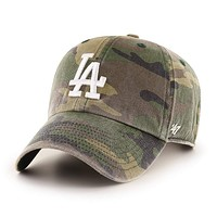 Los Angeles Dodgers Camo '47 Clean Up