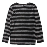 Publish Milian Knitted L/S Tee In Black