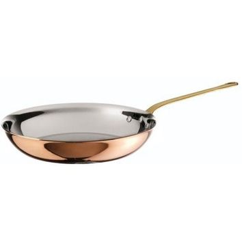 Copper and Stainless Steel Fry Pan