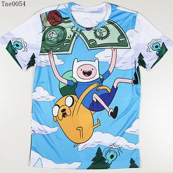 Adventure Time All About The Benjamins 3D T Shirt
