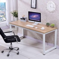 Computer Desk PC Laptop Table Wood Work-Station Study Home Office Furniture