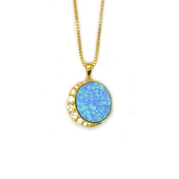 Once In A Blue Moon Pendant