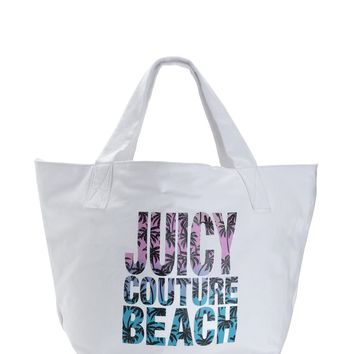 Palm Oasis Collection Beach Tote by Juicy Couture, O/S