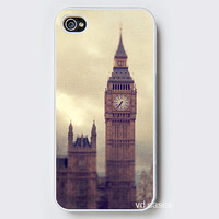 iPhone Case - Big Ben - iPhone 4 Case, iPhone 4S Case - Photo Cell Phone Cover. London Photo England