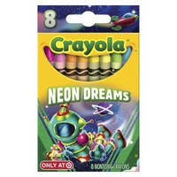 Crayola 8ct Pick your Pack Neon Dreams Crayons