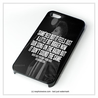 Bruno Mars Quotes iPhone 4 4S 5 5S 5C 6 6 Plus , iPod 4 5 , Samsung Galaxy S3 S4 S5 Note 3 Note 4 , HTC One X M7 M8 Case