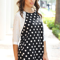 Polka Dot Dream Dress - Furor Moda - Tops - Dresses - Jackets - Vintage