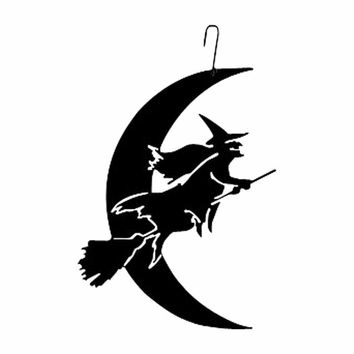 Witch-Moon - Decorative Hanging Silhouette