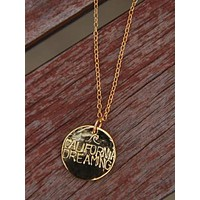 Gold California Dreaming Necklace
