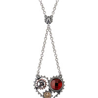 """Coeur du Moteur"" Necklace by Alchemy of England"