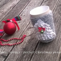 Cup Cozy/ Knitted Mug Cozy/ Coffee Cozy/ Tea Cup Cozy/ Spruce Cozy Cup/ Spruce Knitted/ Christmas Gift/ Cup Cozies