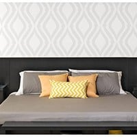 Valhalla Designer - King Platform Floating King Bed Headboard with Integrated Nightstands New Set King for big King Furniture in your Bedroom Suite nice Sale King and Cheap King Bed California style set. (Black)