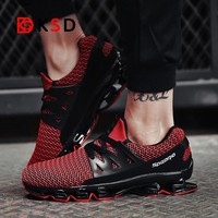 Super Popular Men Running Shoes Breathable Men Sneakers Bounce Shoes Bounce Sports Shoes Blade Jogging Walking Athletic Shoes