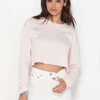 Totally Bae-sic Crop Sweatshirt