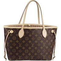 Tagre™ Brand New Women's Louis Vuitton Handbags/Totes/Bags Neverfull, Size GM, Material: Monogram Canvas