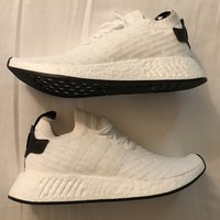 adidas nmd r2 white and black pk sz us 9 BRAND NEW