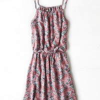 AEO Women's Don't Ask Why Cinched Slip Dress