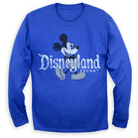 Mickey Mouse Long Sleeve Tee for Adults - Disneyland