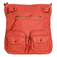 Double Pocket Crossbody Bag | Shop Accessories at Wet Seal