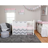 Baby Bedding Sets  - Cotton Candy 3 Piece Crib Bedding Sets Set