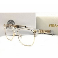 Versace Trending Men Women Simple Shades Eyeglasses Glasses Sunglasses I