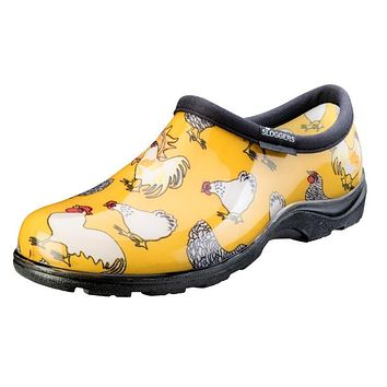 Sloggers Rain and Garden Shoes - Chicken Daffodil Yellow