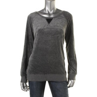 Two by Vince Camuto Womens Long Sleeves Zipper Sweatshirt