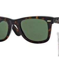 Cheap Ray Ban RB2140 902 50M Tortoise/Crystal Green outlet