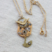 High Quality Inner Workings Necklace Pendant
