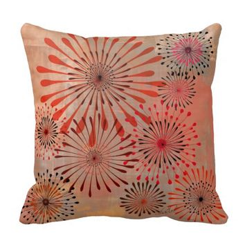 Rebecca- Pillow in Fall Colors