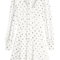 Pussy Bow Printed Crepe Dress - Marc Jacobs | WOMEN | KR STYLEBOP.COM