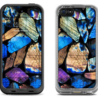 Bright Colorful Stones - Lifeproof iPhone 6 Fre, LifeProof iPhone 5 5S 5C Fre Nuud, Lifeproof iPhone 4 4S Fre Case Decal Skin Cover