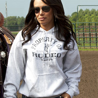Cowgirl Tuff® Ladies' Property Of Rodeo Hoodie