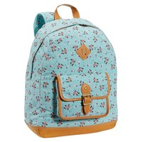 Heritage Pool Ditsy Floral Canvas Backpack