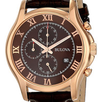 Bulova Chronograph Men's Dress Watch 97B120