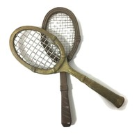 Vintage Brass Tennis Racket Decor, Book Shelf, Coffee Table, Man Cave Decor, Tennis Player Gift, Sports Themed Gifts, Sports Room Decor