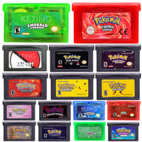 Nintendo 32 Bit Video Game Cartridge Console Card Pocket Series 1 3 English Language Edition forPokemon go