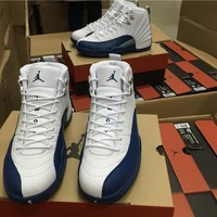 AIR JORDAN 12 (FRENCH BLUE) Basketball Shoes