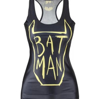 CJUN Digital printing batman Women's vest