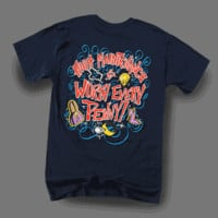 Sweet Thing Funny High Maintenence Blue Girly Bright T Shirt