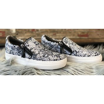 Name Your Poison Sequin Sneakers