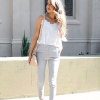HARPER GREY  DRESS PANTS