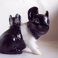Hand Painted Ceramic Pigs Mother and Baby Hampshire