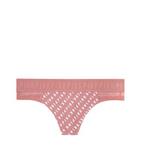 Wide Logo Thong - PINK - Victoria's Secret