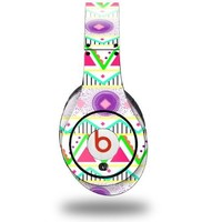 Kearas Tribal 1 Decal Style Skin (fits ORIGINAL Beats Studio Headphones - HEADPHONES NOT INCLUDED)