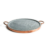 Soapstone & Copper Pizza Stone