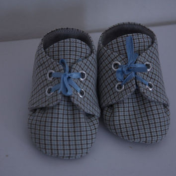 baby boy plaid loafers, baby shoes