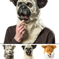 Mouth Mover Mask: Creepy animal masks that move when you talk!