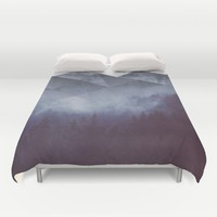 Winter Glory Duvet Cover by Cafelab