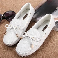 Louis Vuitton Women Fashion Simple  Casual Loafers  Shoes